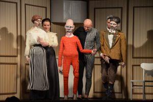 """Teatr Lalek – """"Rogi czyli Dylematy Arlekina"""""""