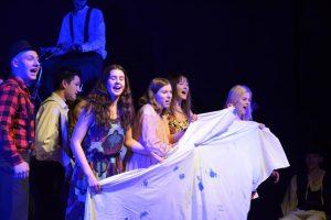 "Teatr MATYSAREK – ""Niebieskie Pięty"""